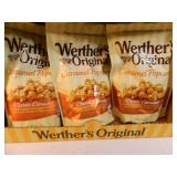 12 New Bags of Werthers Caramel Corn