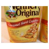 2 New Large Bags of Werthers Hard Caramel Candies