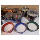 Assorted New Citronella Candles