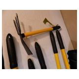 Garden Tools, Leaf Scoops, Etc