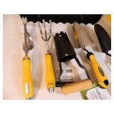 Assorted Gardening Hand Tools