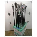10 New Stainless Steel Tiki Torches