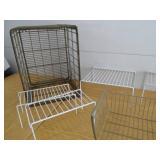 Metal Crate - Shelf Organizers