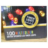 Lot of LED Battery Operated Christmas Lights