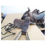 Vintage Saddle / Bridle