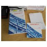Auto CAD Books - CDs - Used Light Kit