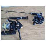 Lot of 3 Fishing Rods