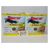 2 Tomcat Mole Traps