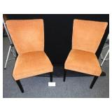 Two Mid Century Style Side Chairs