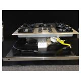 Brand New Electrolus/Frigidaire 5 Burner Gas Top Stove with a Fan Below the Burners