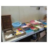 Jewelry and Sewing Lot