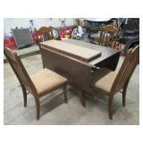 Walnut Kitchen Table & Chairs