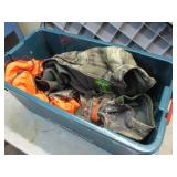 Storage Case with Camo Clothes