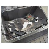 Tote of Goose Decoys
