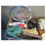 Collectibles and sewing Lot