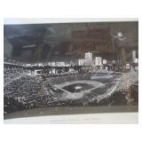 Wrigley Field Lithograph