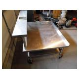 Stainless Steel Rolling Table