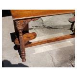 Antique Oak Hutch or Buffet Top