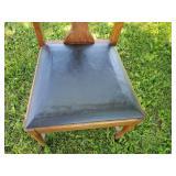 Vintage Oak Chair