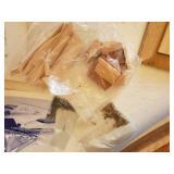 Vintage Easy-Kit Bluenose Wood Fishing Schooner building kit