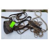 Mix lot of vintage Horse equipment