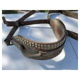 Two straps and Belly bands for horse