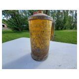Vintage Golden Rod Oil Can
