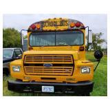 1985 B600 Detroit Diesel V8 8.2 Liter School Bus