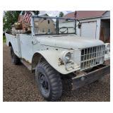 1957 Dodge 3/4 Ton Military Truck 4 Wheel Drive