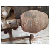 Vintage Hand Crank Sickel Mower blade sharpener