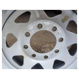 Set of tire rims