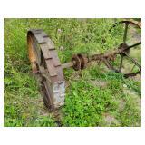 Vintage Farm Implement Wheels