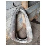 Vintage Leather Smaller Horse Collar