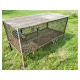 Large rabbit or animal cage