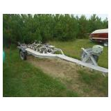 1965 Boat Trailer with Winch