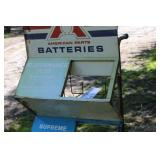 Power Ready Batteries Metal Display Cart