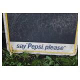 Pepsi  say Pepsi please Metal Sign