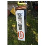 General Tires BARGAINS Metal Sign