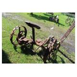 Case Cultivator Farm Implement with 6ft. Blade