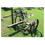 McCormick Cultivator Farm Implement with 6ft. Blade