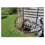 38in. Wood Wagon Wheel