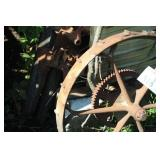 30in. Steel Wagon Wheel