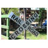 Rail Road Crossing Signal 2 Tracks