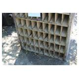 63-bin Metal Organizer Cabinet