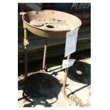 Vintage Metal Forge Pot