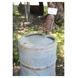 Metal Gas Barrel with Pump Head