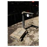 Rolling Industrial Metal Floor Scale