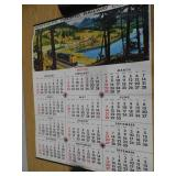 Lot of 2 Northern Pacific Calendars