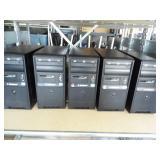 Lot of 5 ByteSpeed Computer Towers