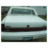 1992 Lincoln Town Car 4 door  - V8.